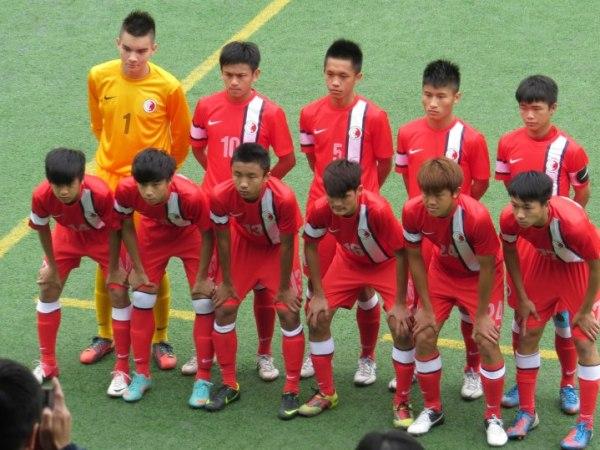 Jason Zimmerman (GK) representing Hong Kong