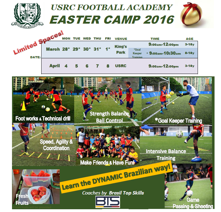 Easter camp 2016