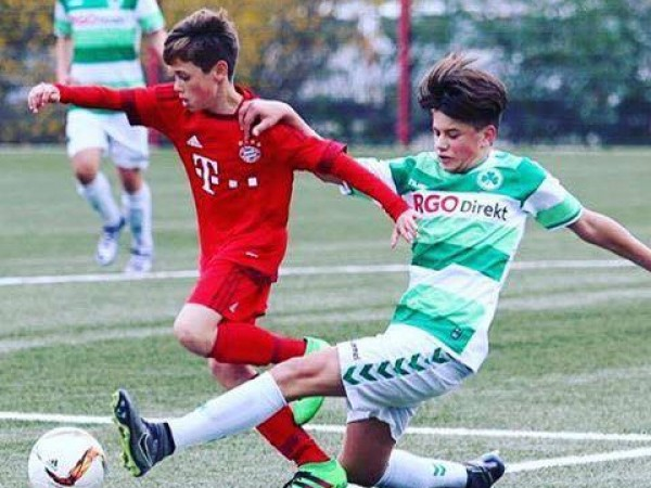 Henrik Brugner – Our talented student- Now playing in Germany for FC Bayern Munich.