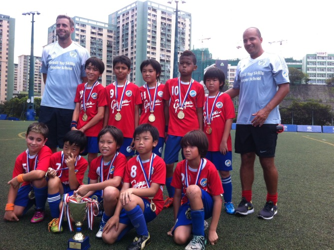 BTS U10's Team – HKJFL U10 Overall Champions for the 2013-14 Season
