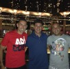 Eder with Capone and Christiano