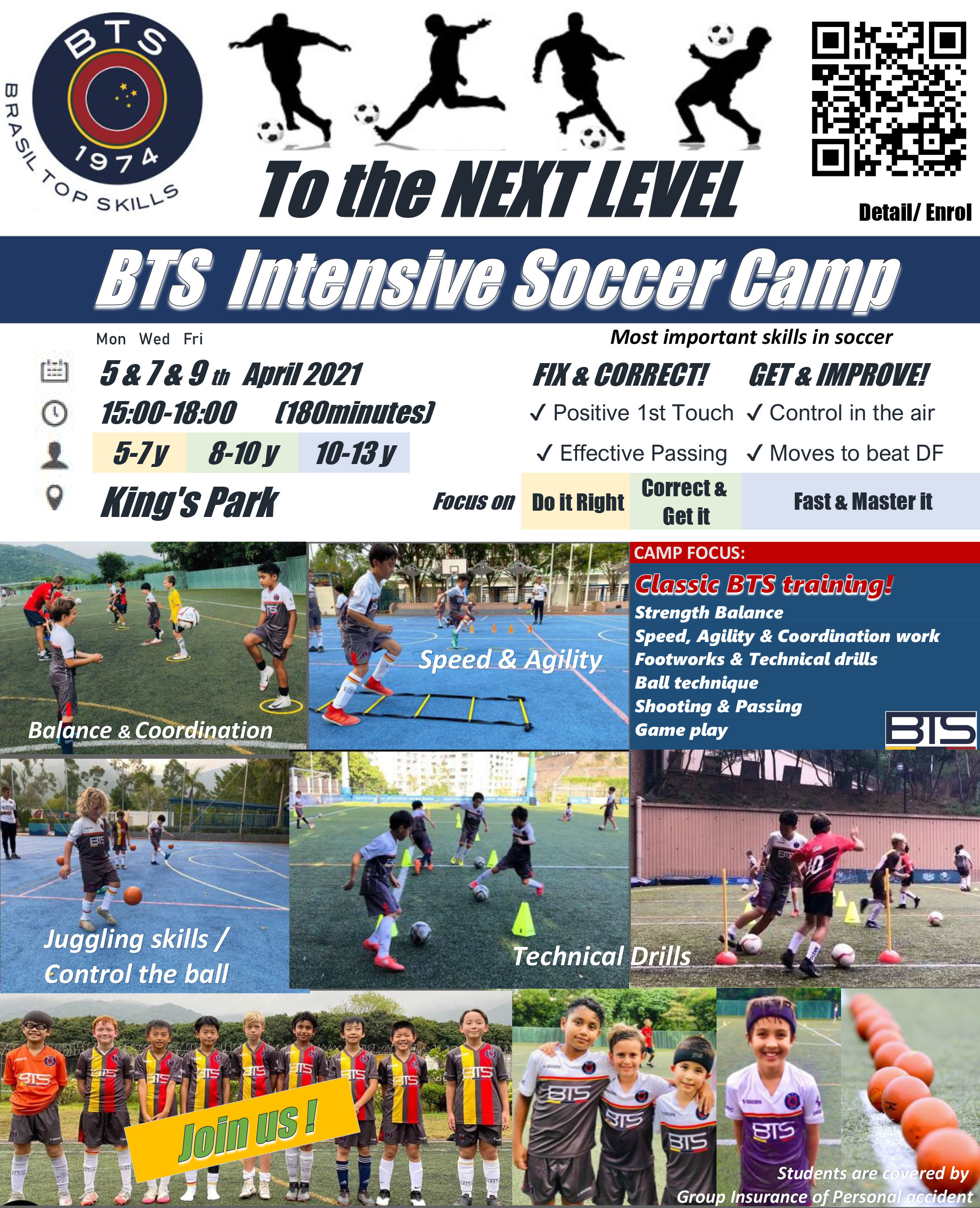 "Easter Camp ""TO THE NEXT LEVEL"""
